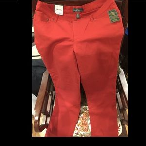 Ralph Lauren slimming modern straight jeans  NWT
